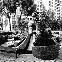 Poprad - Fountain with sphere, 1993