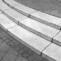 Snina - Reconstruction of the square, stairs, 2004